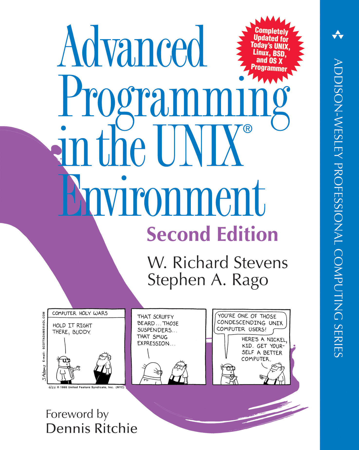 Advanced programming in the unix environment 2nd edition 2017